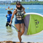 Paddle Boarding at Oleta River Outdoor center